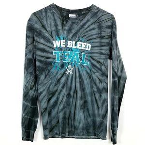 We Bleed Teal Go Reagan Raiders T-Shirt
